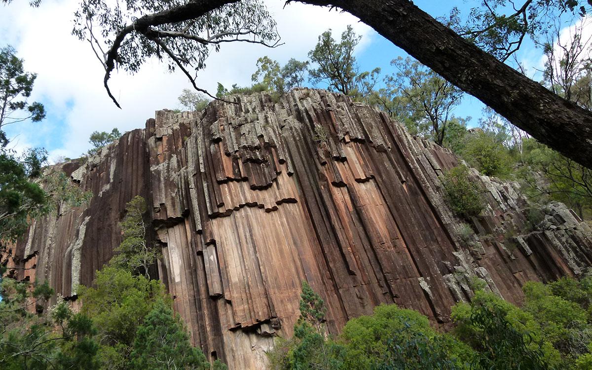 sawn rocks near wee waa
